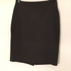 The Limited Collection Brown Pencil Skirt